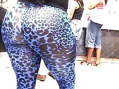 디자이너 레 깅 스에 세상에 큰 라티나 엉덩이